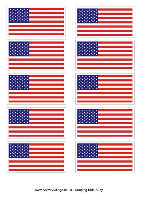 printable us flag united states flag printable school pinterest flags