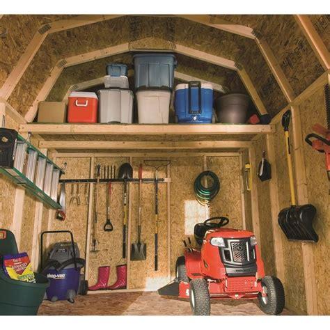 shop heartland estate gambrel engineered wood storage shed