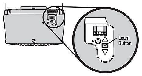 program  raynor garage door remote control