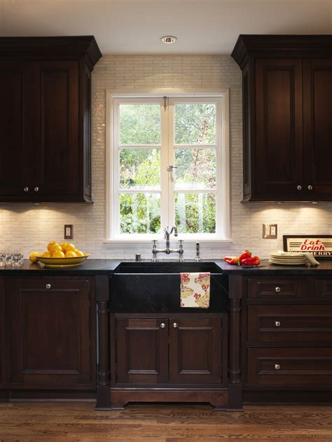 Soapstone Cabinets by Soapstone Countertop With Apron Sink In The