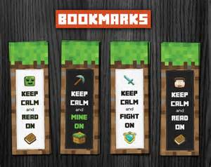 minecraft bookmark template 8 best images of big printable minecraft bookmarks