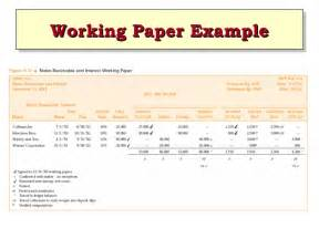 audit workpaper template ch06 modern auditing boynton