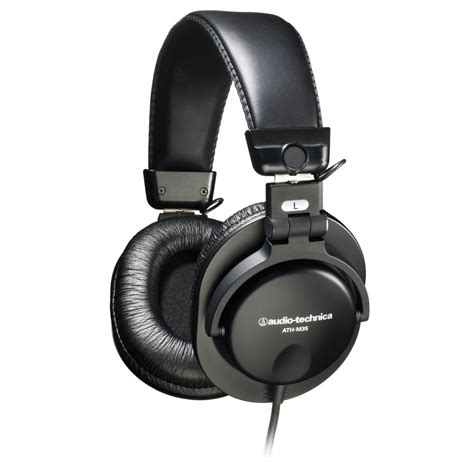 Monitor Earphone audio technica ath m35 closed back dynamic stereo monitor headphones athm35 audio technica
