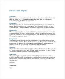 Reference Letter Template On Word Reference Letter Articleezinedirectory