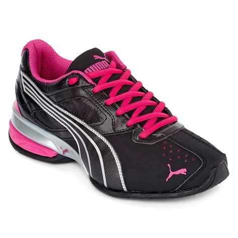 jcpenney womens athletic shoes womens tazon 5 athletic shoes black silver pink on