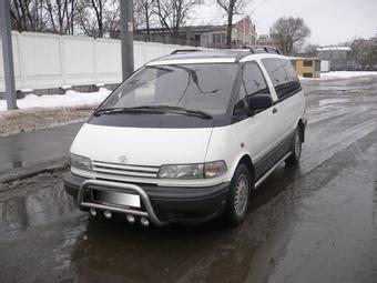 1999 Toyota Previa 1999 Toyota Previa Photos 2 4 Gasoline Fr Or Rr