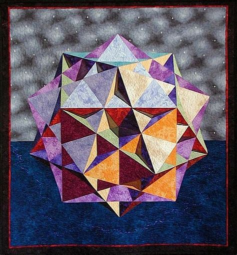 great ditrigonal icosidodecahedron quilt
