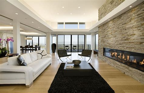 contemporary family rooms modern home with sweeping valley view idesignarch