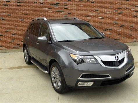 2012 Acura Mdx Advance Package For Sale Find Used 2012 Acura Mdx Sh Awd W Advance Package In