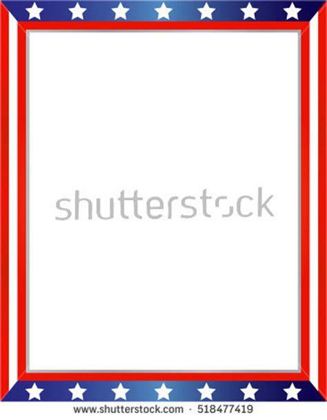 design frame usa american flag border stock images royalty free images