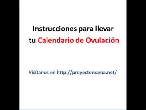 Calendario De Ovulacion Para Quedar Embarazada Calendario De Ovulaci 243 N Para Calcular Los D 237 As