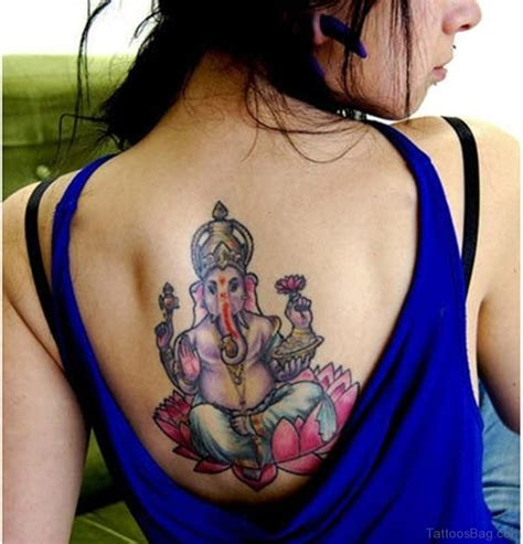 ganesh tattoo on back 50 great ganesha tattoos on back