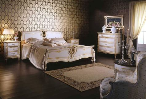 louis bedroom classic louis xvi bedroom wood bed night tables carved