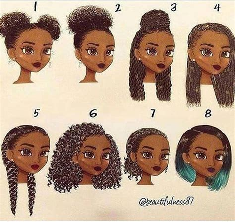 natural hairstyles cartoon 272 best natural hair art images on pinterest natural