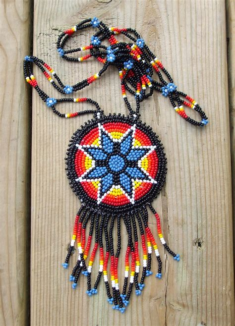 beadwork indian medallion gt gt gt made jewlery