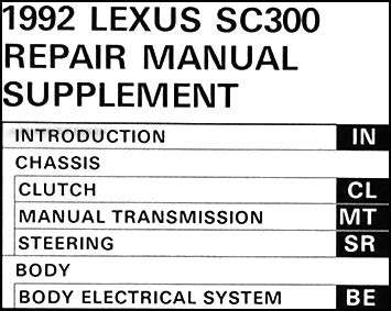service manual free 2010 lexus sc repair manual lexus sc 430 repair manual software dvd 2008 1992 lexus sc repair manual 1992 lexus sc400 sc300 factory owners manual for sale carmanuals