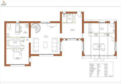 Plan De Maison Design by Plan De Maison Design Plein Pied Studio Design