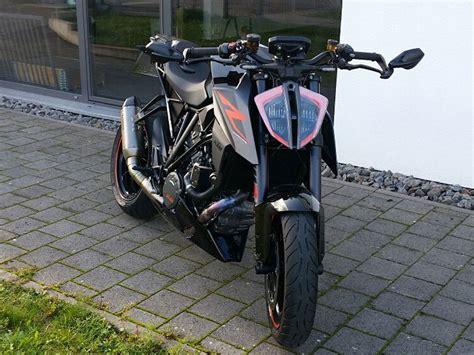 Viper Auspuff Motorrad by Spiegel F 252 R Ktm Superduke Duke Viper Shield Lever Tecbike