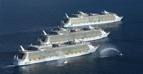 the world s largest cruise ship allure of the seas photos world s largest cruise ships in historic meetup