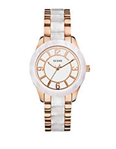 Guess W0446l2 guess watches jewellery accessories hudson s bay