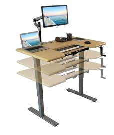 how to standing desk manual adjustable height standing desk comparison review