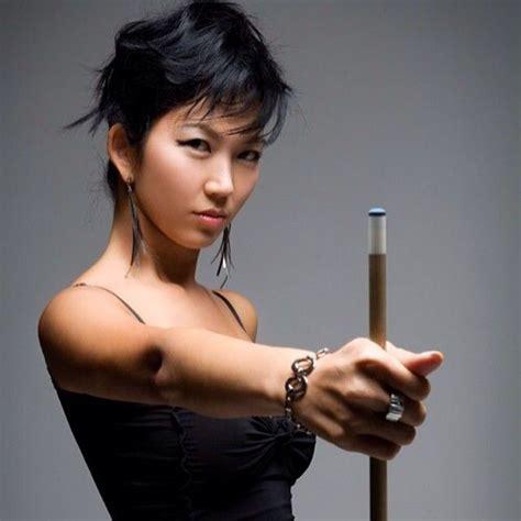 Meja Billiard Black Widow jeanette quot the black widow quot billiards player jeanettelee theblackwidow asiancelebrities
