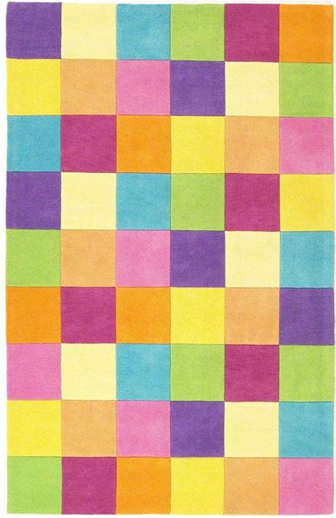 kidding around 420 color blocks rug by kas