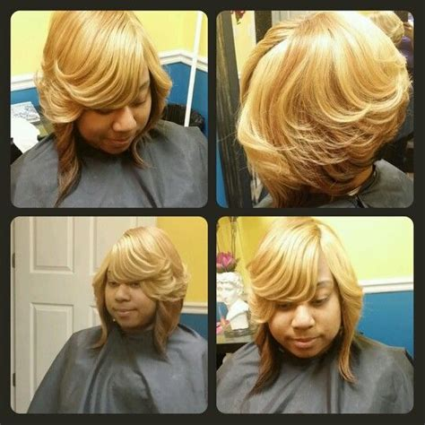 layer weave hair styles weave quick weave layered bob styles by cola dope stylist