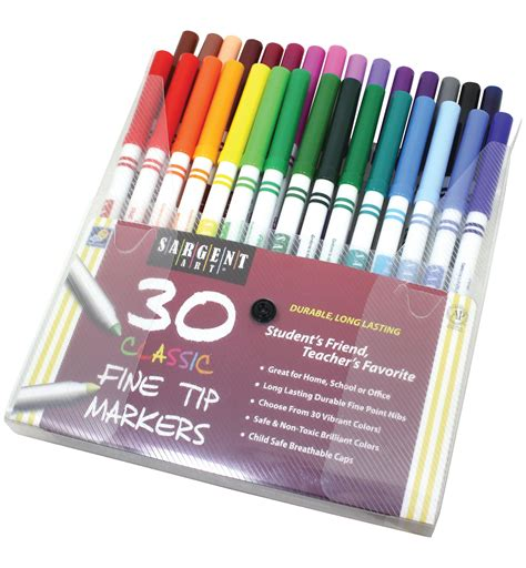 Drawing Markers by Sargent 22 1592 30 Count Classic Markers
