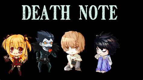 death note chibi by tgcraft on deviantart