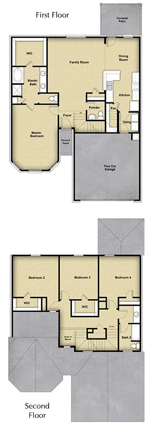 lgi homes floor plans 3 br 2 ba 1 story floor plan house