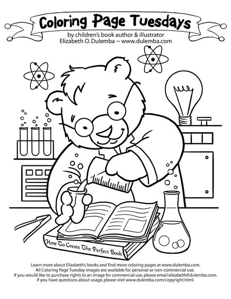 science coloring pages for kids az coloring pages