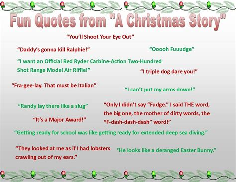 quotes from a christmas story quotesgram