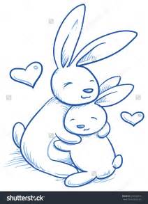 doodle draw easter bunny baby easter bunny drawings happy easter 2017