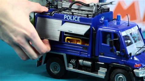 demo police car  rescue boat woz policyjny