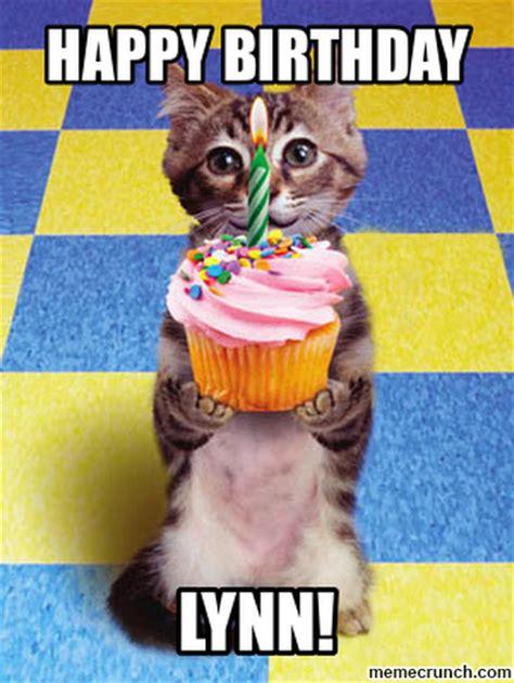 18 Birthday Meme - happy birthday lynn