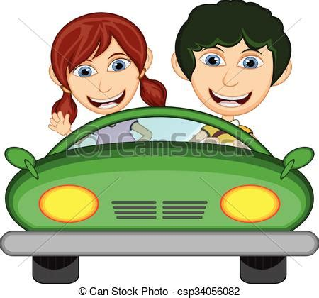Kinder Auto Zum Fahren by Auto Kinder Fahren Karikatur Fahren Auto Abbildung