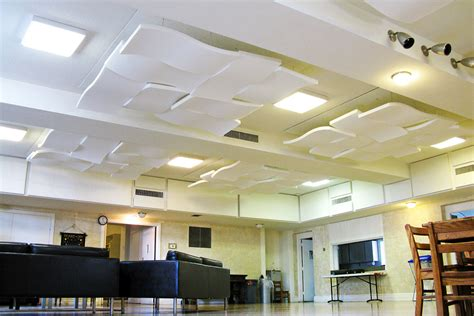 Cloud Ceiling Panels Sonex Wwc 2 Whisper Wave Clouds 24in X 48in Acoustical