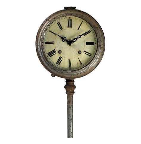 floor clocks vintage reproduction adjustable height industrial floor clock