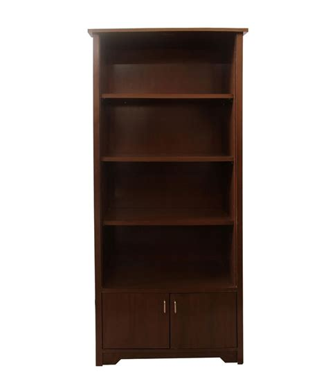 silver pine library bookcase with lower doors buy silver