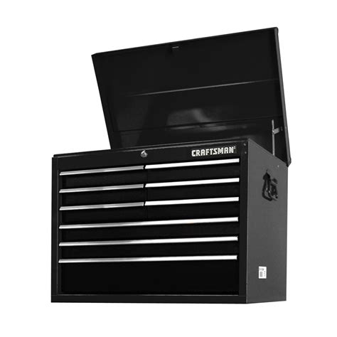 Craftsman Tool Chest Drawer Slides by Craftsman 27 Quot 9 Drawer Std Duty Bearing Slides Top