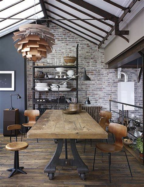 how to produce an industrial dining room decor advisor