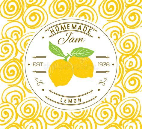 product label design templates jam label design template for lemon dessert product with