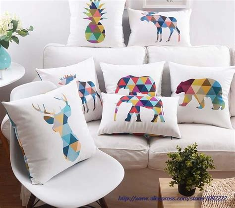 cheap couches deer color animales elefante deer cojines geom 233 trico arte pi 241 a
