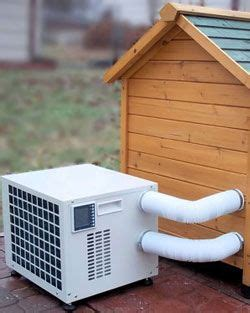 dog house with ac and heater dog house heater air conditioner combo unit