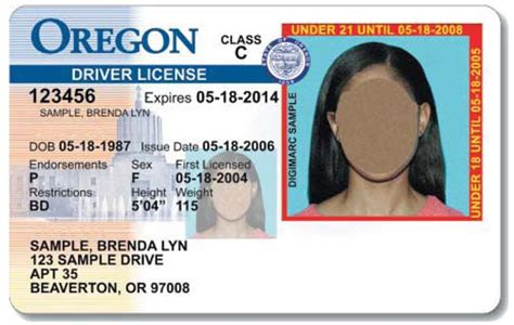 oregon id card template oregon dmv grants driver licenses to some immigrants
