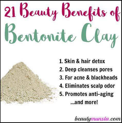 Bentonite Detox Benefits by 21 Benefits Of Bentonite Clay For Skin Hair More