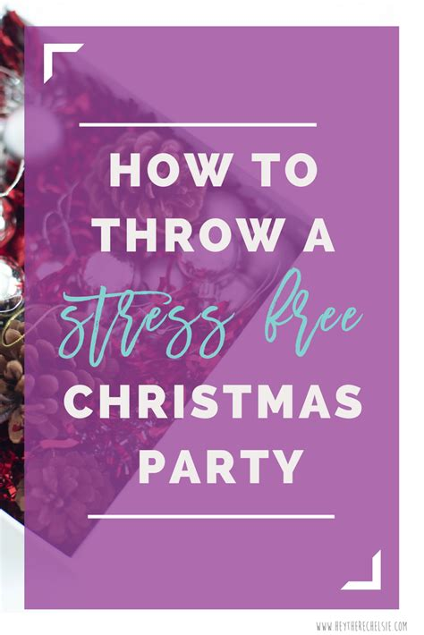 how to plan a stress free holiday party and a free how i throw a stress free christmas party diy wrapping