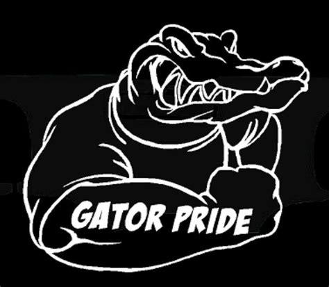 Florida Gators Home Decor florida gator pride vinyl decal gators sticker fl mud bog