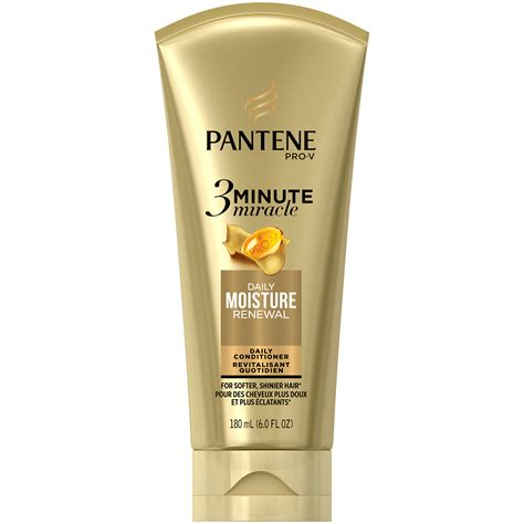Pantene Daily Moisture Renewal pantene moisture renewal 3 minute miracle conditioner